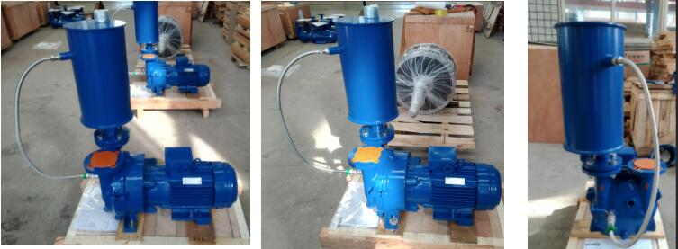 liquid ring vacuum pump with separator used in modern refinery plant.jpg