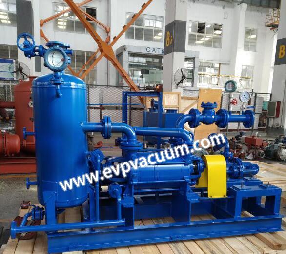 Liquid ring vacuum pump in palm oil mill.jpg