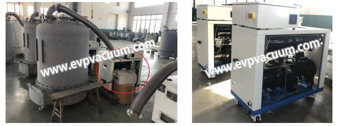 Roots screw vacuum pump package used in solvent recovery of pharmaceutical industry.jpg