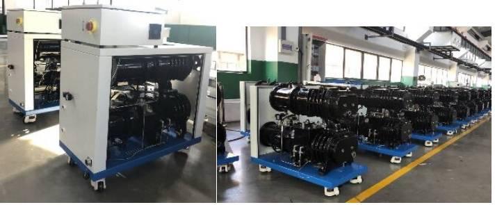 定制化设计罗茨-干式螺杆真空泵机组