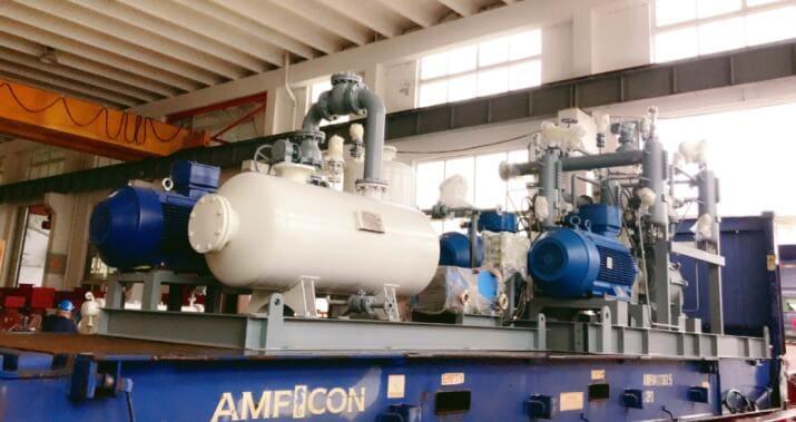 水环真空泵和水环压缩机用于石化行业聚丁二烯工艺