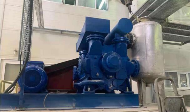 水环真空泵在带式过滤机的应用